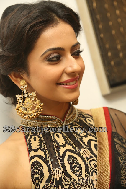 Actresses in Heavy Kundan Chandbalis