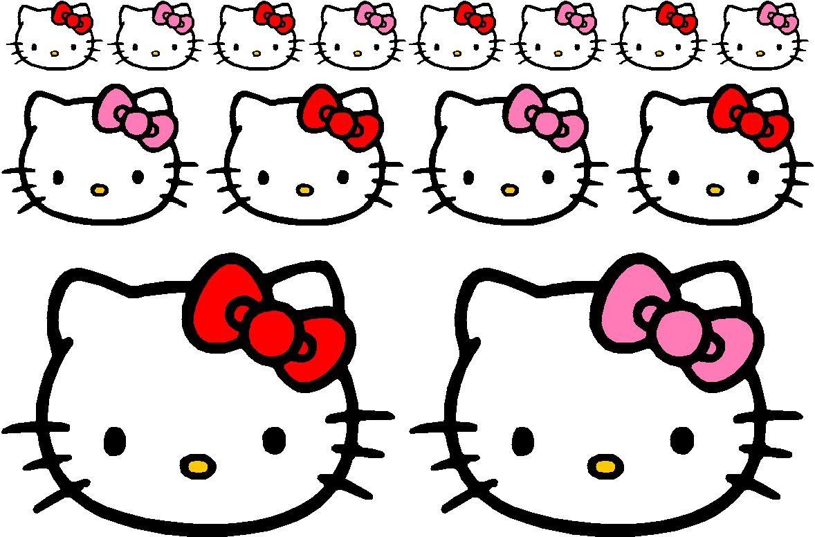 Pegatinas Cara De Hello Kitty Imagenes Y Dibujos Para Imprimir
