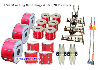 alat drum band