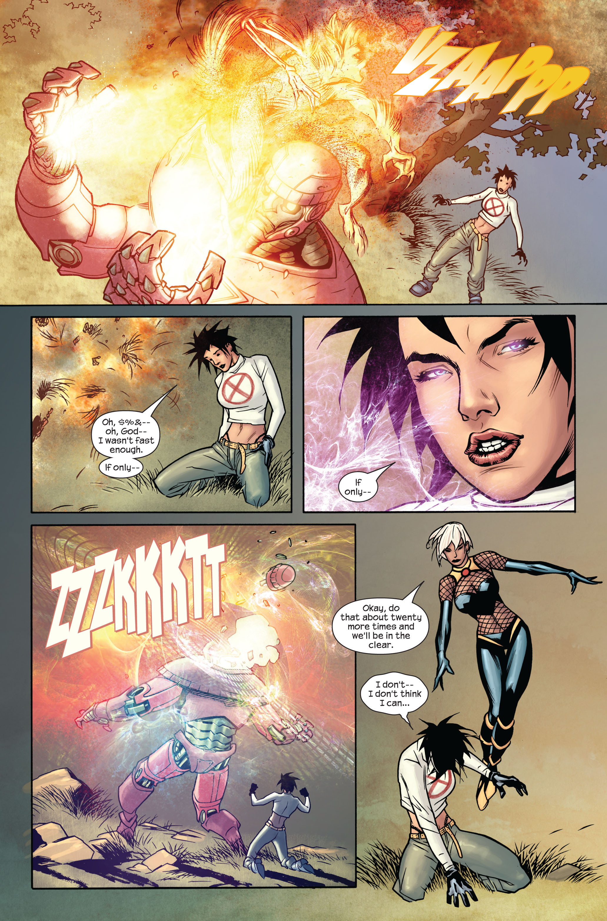 Read online Ultimate X-Men comic -  Issue #87 - 16
