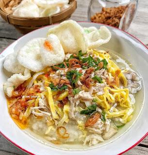 Resep Bubur Ayam Kuah Sop By @dianayupuspitasari
