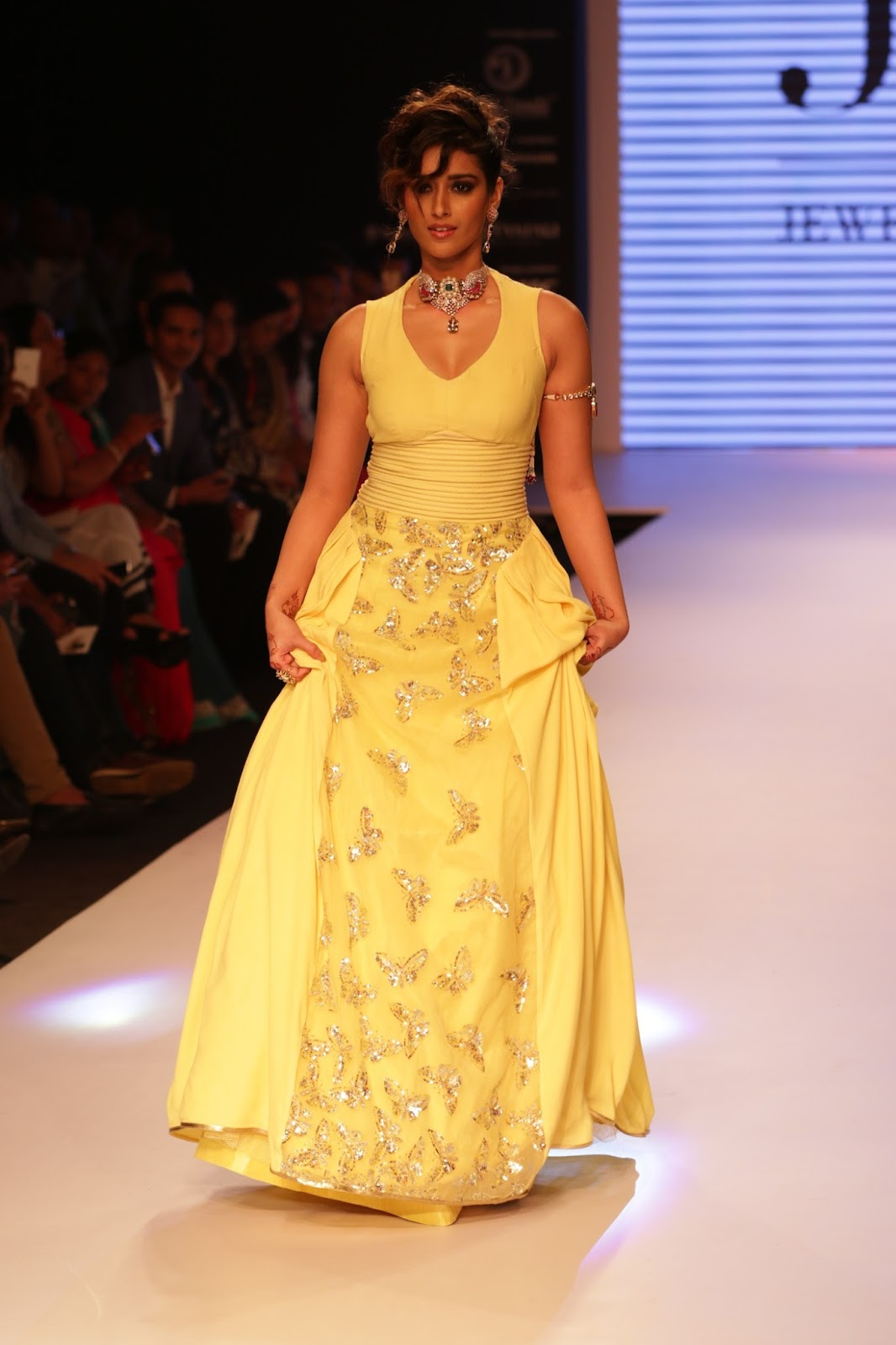 Ileana Ramp Walk Stills at IIJW 2015-HQ-Photo-30