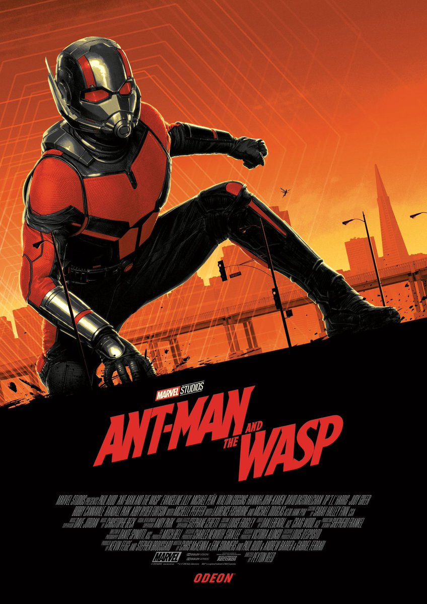 The Blot Says Odeon Exclusive Ant Man And The Wasp Movie Posters