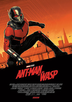 Odeon Cinemas Exclusive Ant-Man and The Wasp Movie Posters by Matt Ferguson x Marvel - Giant-Man