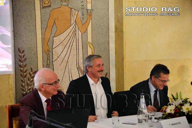 Γ. Μανιάτης: «Εξασφαλίσαμε 5.500.000€ για το Ασκληπιείο Επιδαύρου» - Χαιρετισμός στο Δίκτυο των Ασκληπιείων