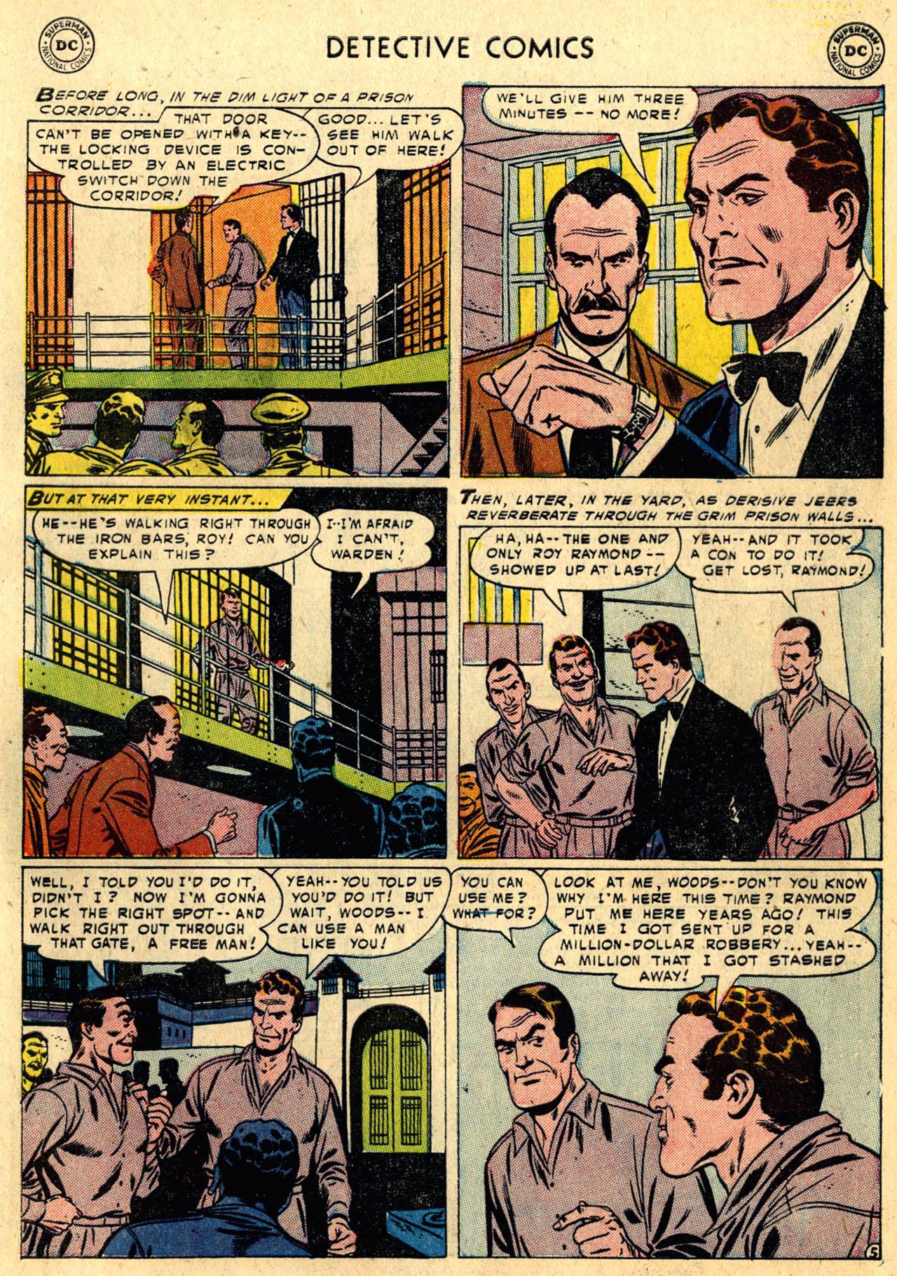 Read online Detective Comics (1937) comic -  Issue #216 - 31