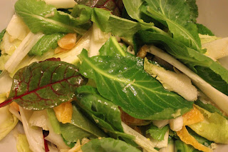 Ideas for an organic Winter salad