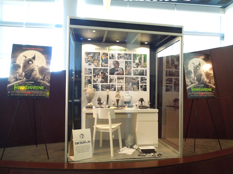 Frankenweenie movie exhibit