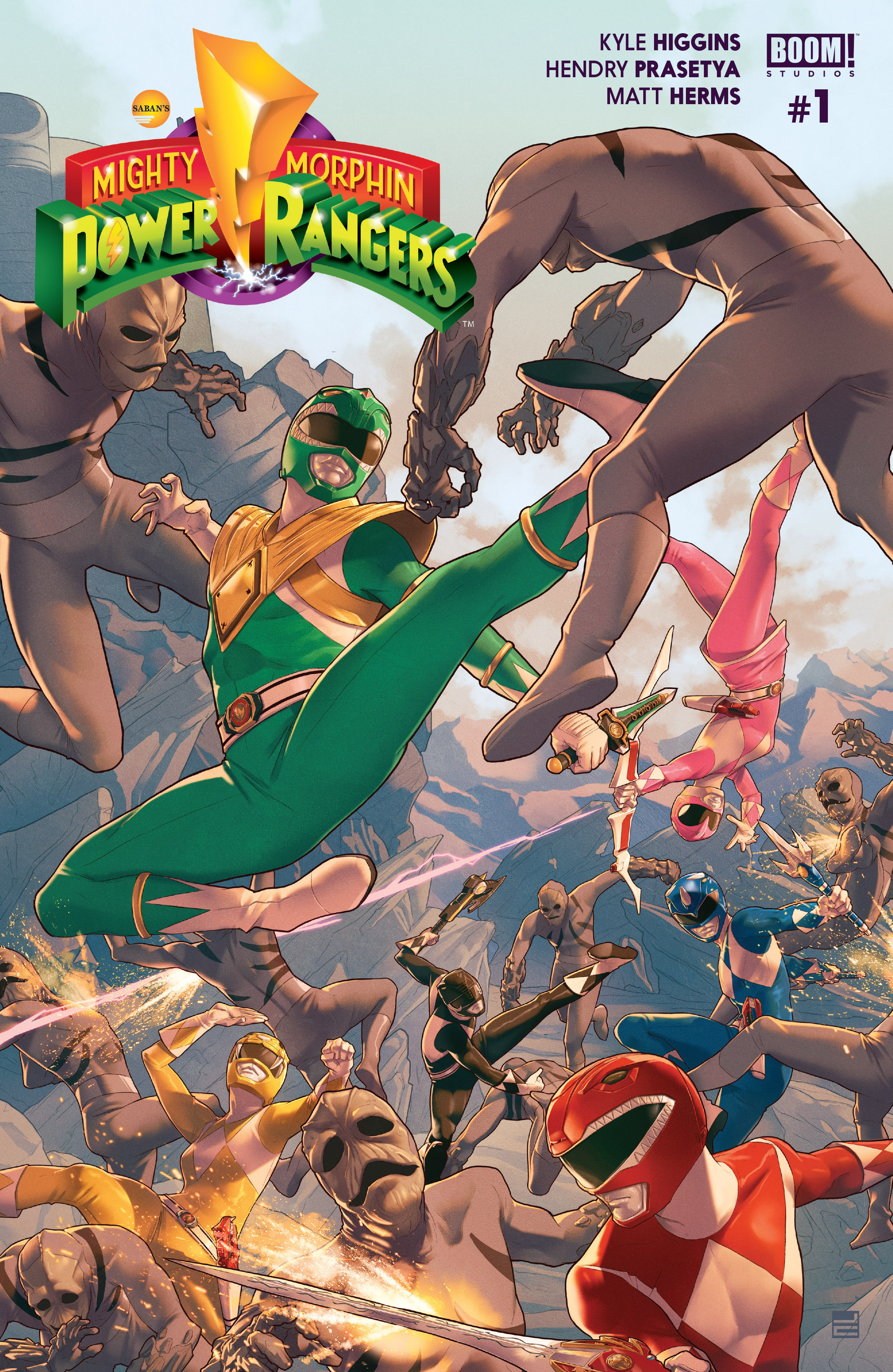 Read online Mighty Morphin Power Rangers comic -  Issue #1 - 1