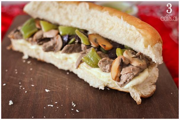 receita sanduiche de carne