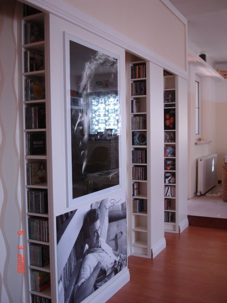 Boiserie c biblio apartment reading room library ideas - Libreria bianca ikea ...