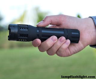 Saber Flashlight Stun Gun And Charger