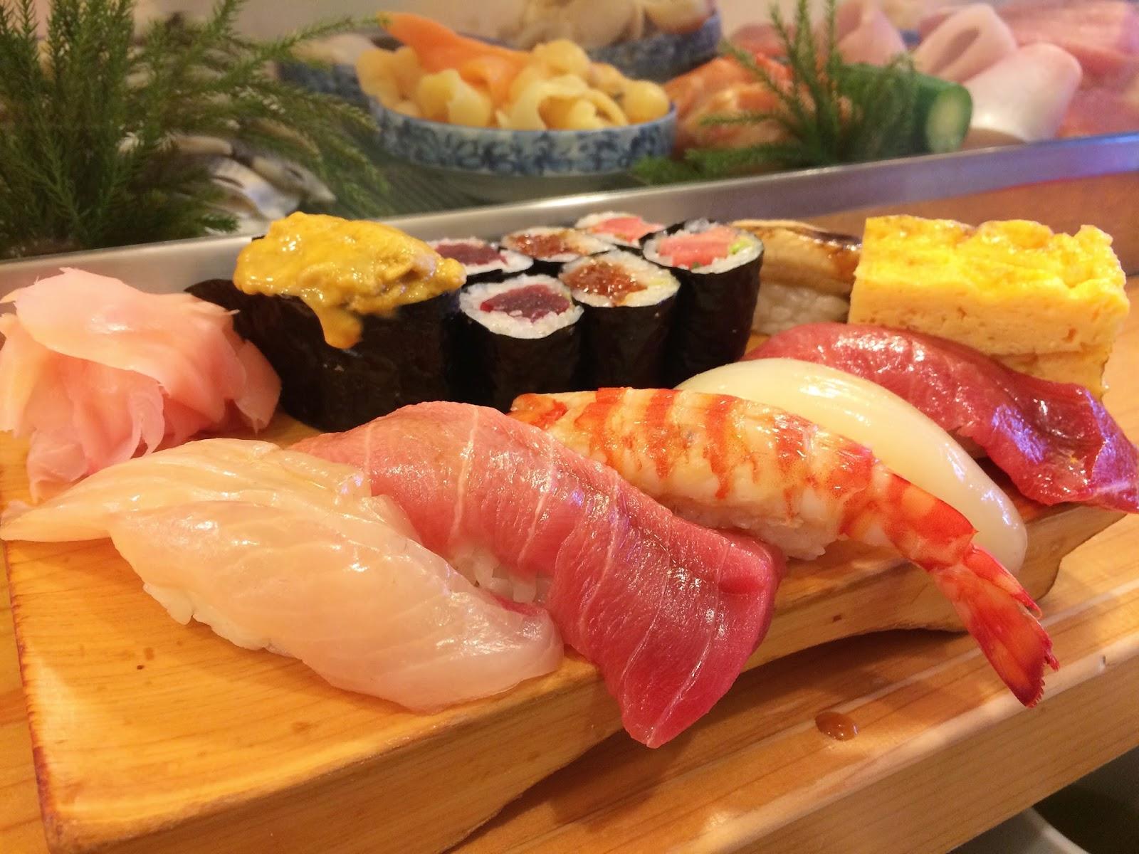[ 東京 ] 大和壽司 新鮮漁獲的握壽司 築地市場 : 胖大叔 Mr. Fat Uncle