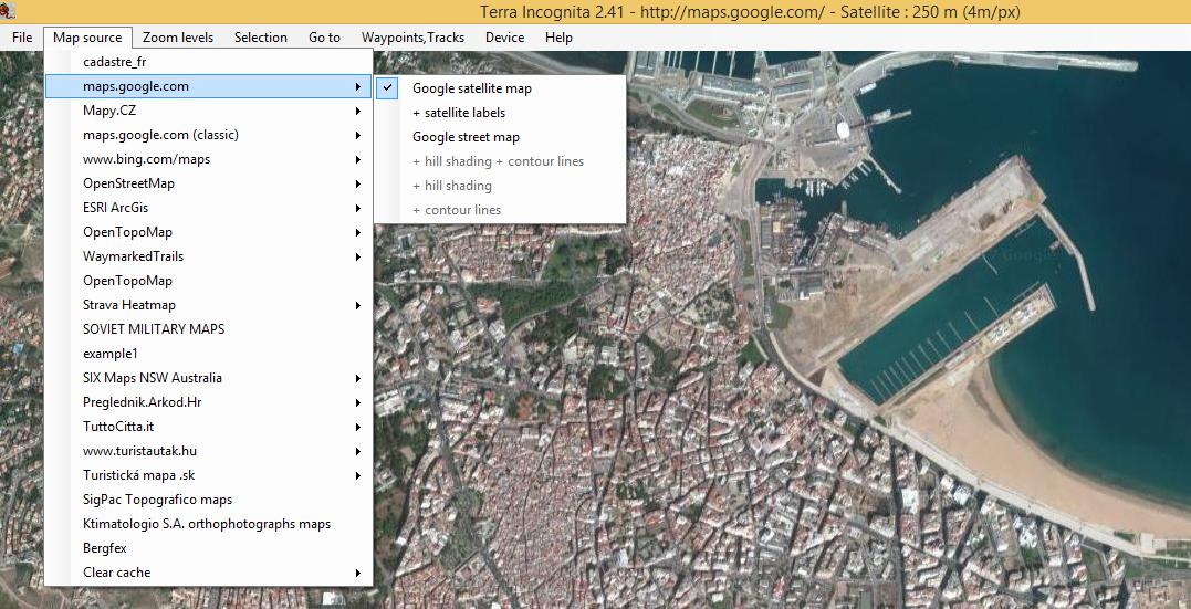 برنامج للحصول على صور بدقة عالية جدا على جوجل مابس مجلتك المعمارية