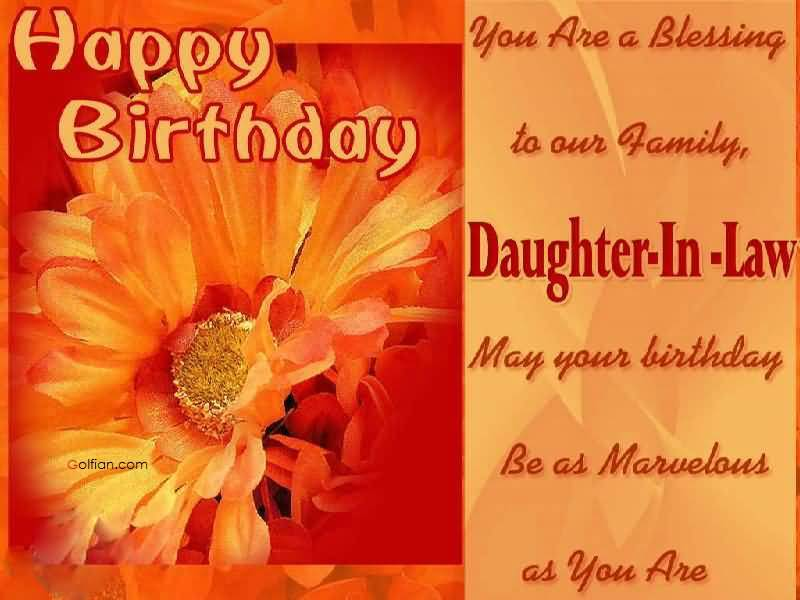 Happy Birthday Wishes Daughter In Law ~ 18 inspiration images of special birthday wishes for daughter in law