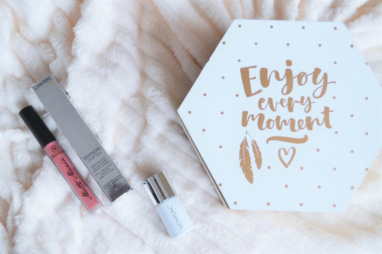 Zakupy kosmetyczne | Semilac, Mac, Balea, Lancome