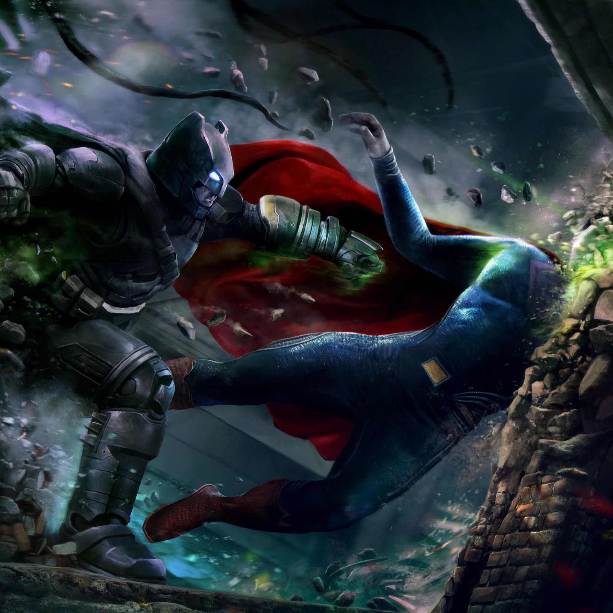 Batman Vs Superman Wallpaper