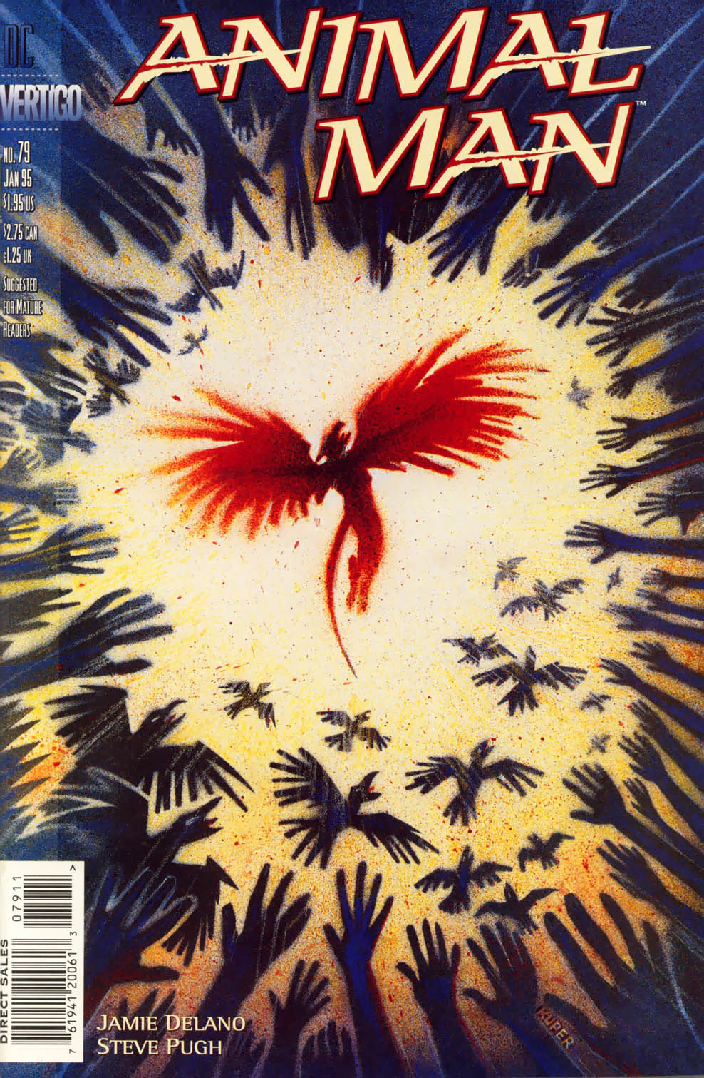 Read online Animal Man (1988) comic -  Issue #79 - 1
