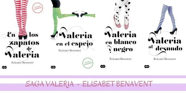 Review: Saga Valeria - Elisabet Benavent