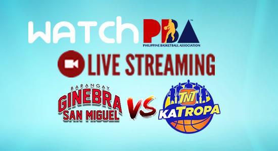 Livestream List: Ginebra vs TNT game live streaming February 11, 2018 PBA Philippine Cup