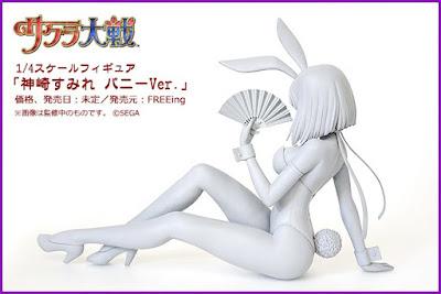 """Kanzaki Sumire Bunny ver. 1/4 de """"Sakura Taisen"""" - FREEing"""