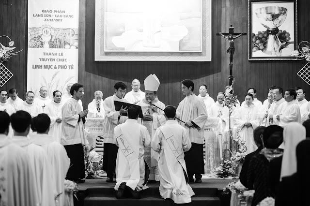 Lễ truyền chức Phó tế và Linh mục tại Giáo phận Lạng Sơn Cao Bằng 27.12.2017 - Ảnh minh hoạ 20