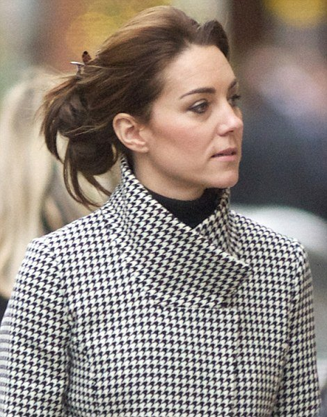 The Duchess Of Cambridge Does Christmas Shopping In London