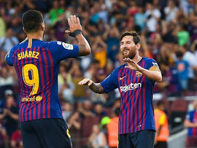 Twitter reacts as Barcelona thrased newly promoted side Huesca