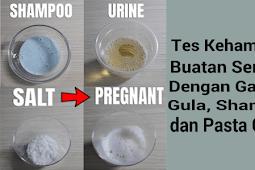 Konfirmasi Tes Kehamilan Buatan Sendiri Dengan Shampo Garam Pasta Gigi dan Gula