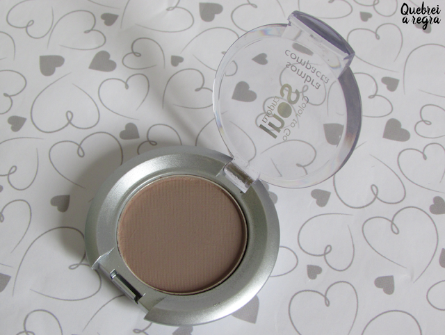 Sombra Compacta Eudora Soul Color To Go Matte - cor Marrom Nut