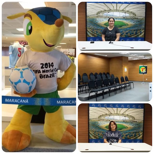 Maracanã - sala de imprensa