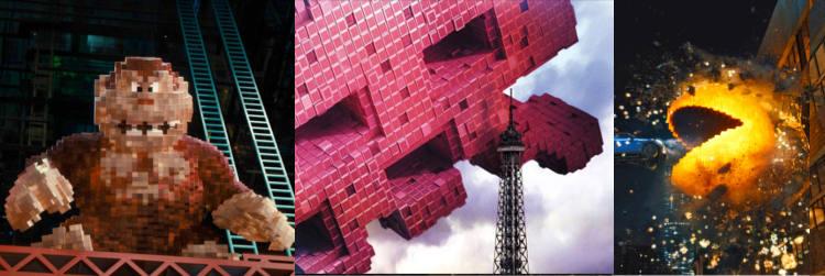 personagens do filme pixels