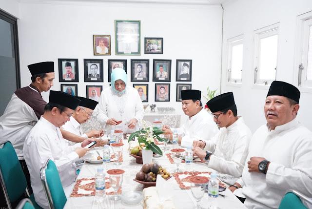 Hari Santri Nasional, Prabowo Sandi Kunjungi Keluarga Besar Gus Dur