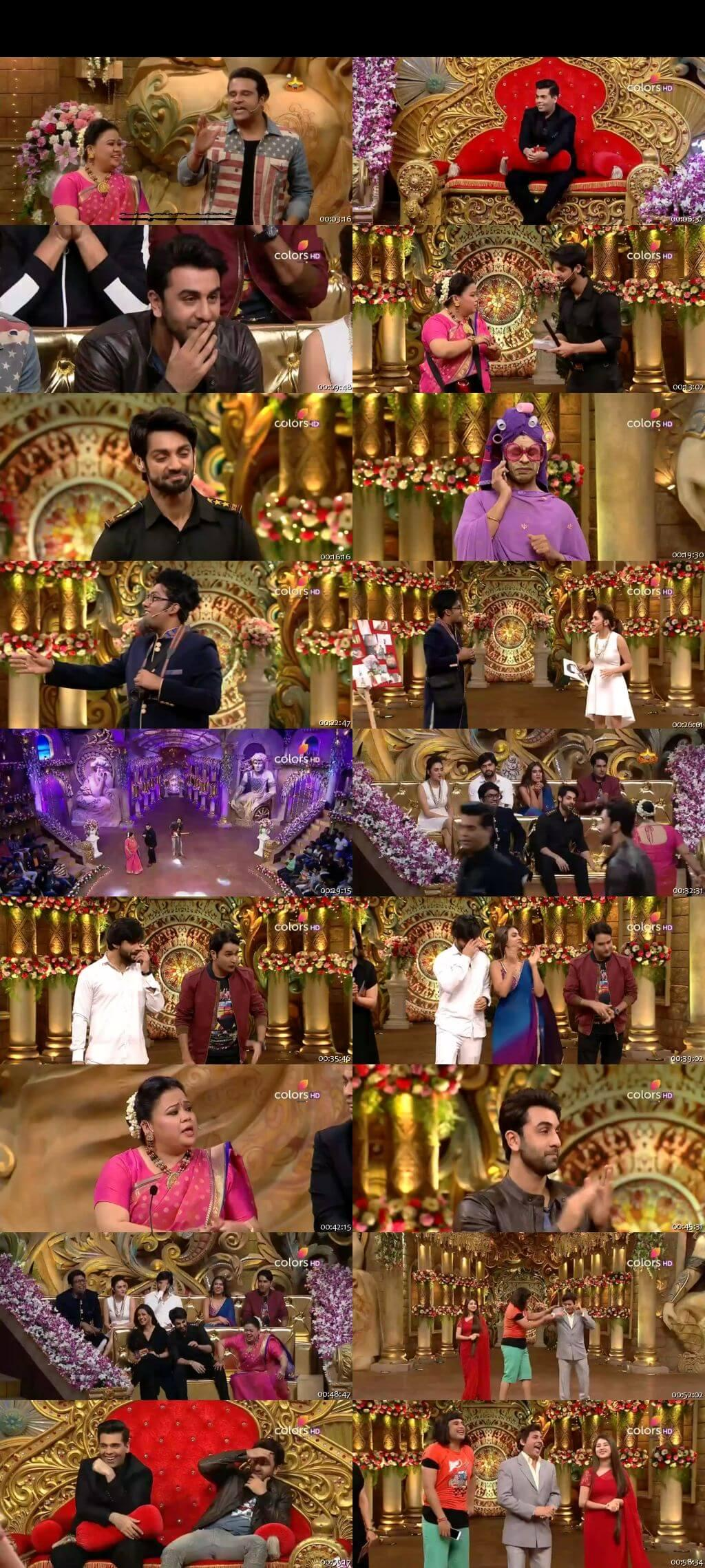 Screen Shot Of Comedy Nights Bachao Taaza 23rd October 2016 Episode 56 300MB Watch Online