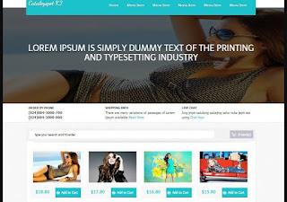 Catalogspot K2 E-Commerce - Template Blog Toko Online