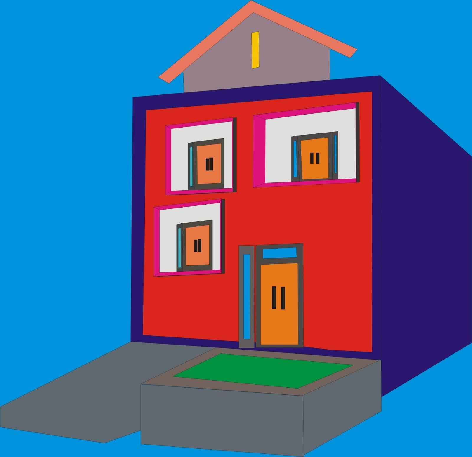 970 Koleksi Desain Rumah Minimalis Coreldraw Terbaru