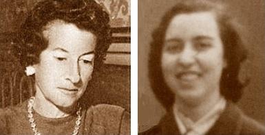 Las ajedrecistas María Luisa Gutiérrez y Antonia Jover