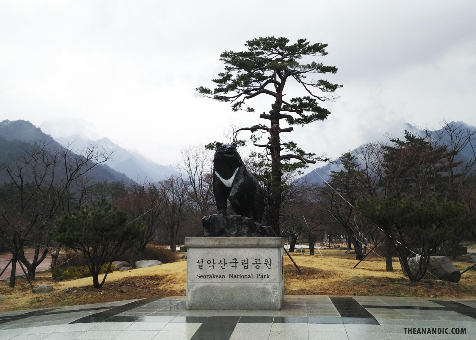 MELIHAT PEGUNUNGAN SALJU DI SEORAKSAN NATIONAL PARK, KOREA SELATAN