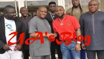I'll work for Gov Wike's re-election, Davido vows