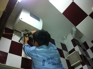 Sửa bình nóng lạnh tại Hoàng Mai Hà Nội