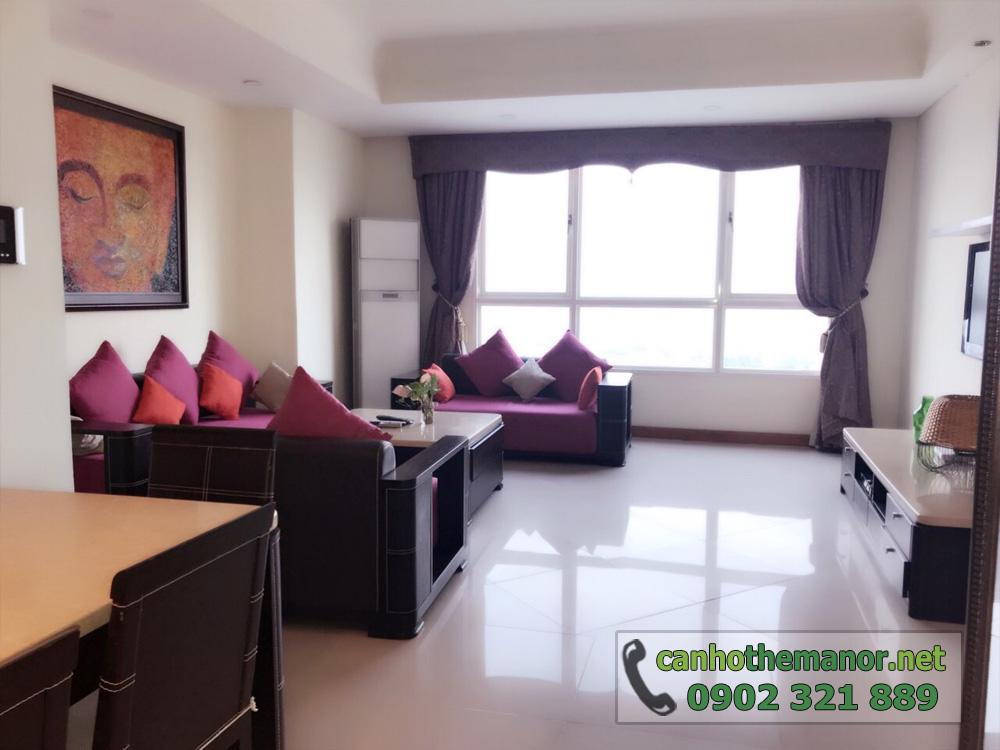 thuê - mua căn hộ 113m2 Block AW - The Manor 1 tầng cao