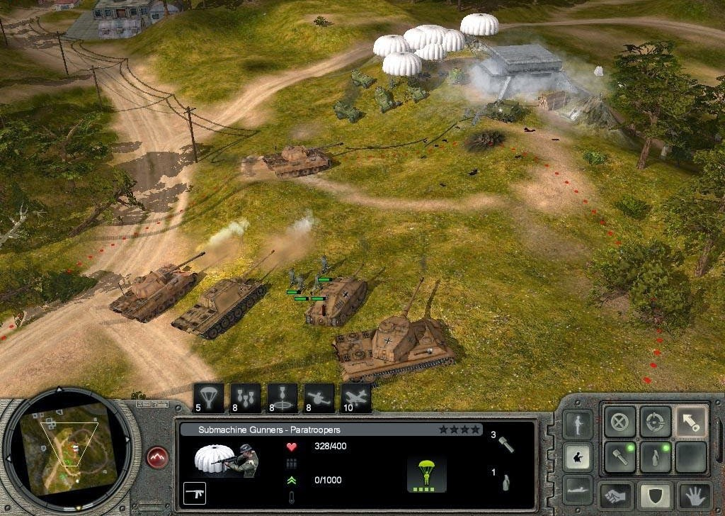 Codename: panzers phase two download (2005 strategy game).