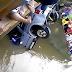 TRAGÉDIA: Seis pessoas morrem afogadas após carro cair em riacho em Miguel Alves