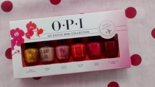 OPI Go Exotic Collection Review