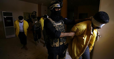 Former IS militants tried in Iraqi courts.