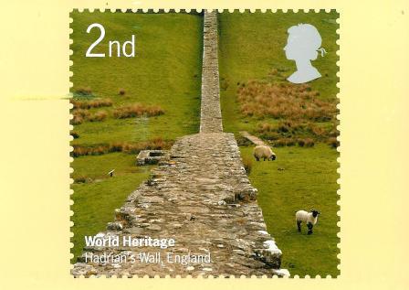 A minha colec o de postais muralha de adriano inglaterra for A muralha de adriano