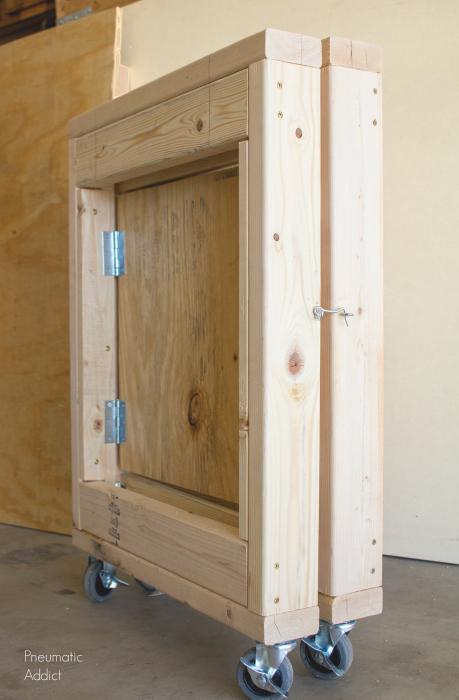 Folding Mobile Workbench Video Tutorial Pneumatic Addict