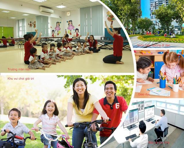 Hệ thống tiện ích đẳng cấp tại Booyoung Vina