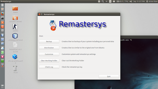 Remastersys working