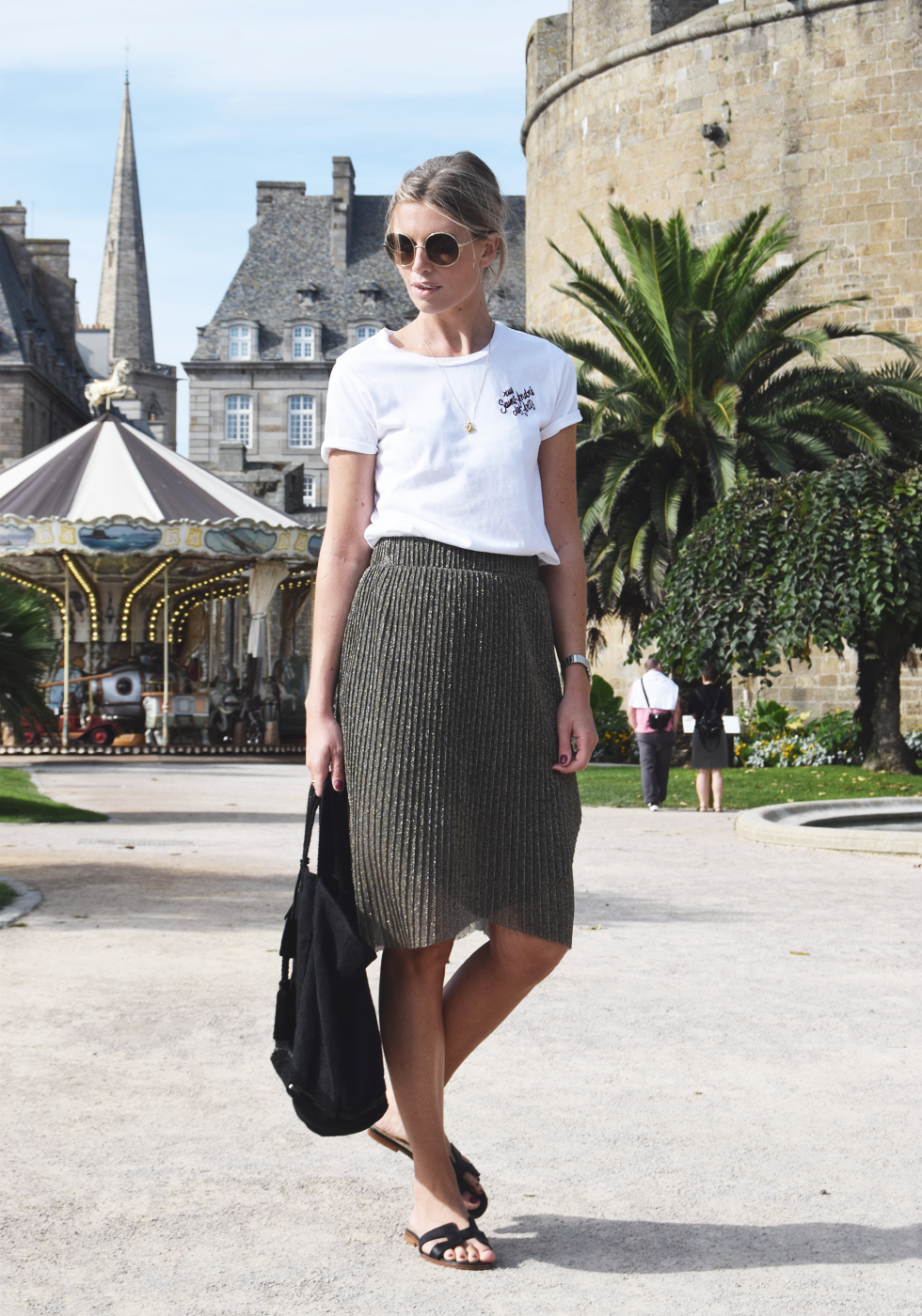 Outfit of the day, Chloé, Monica Vinader, Maje, Cartier, Mango, Vanessa Bruno, Hermès, ootd, style, blogger, fashion